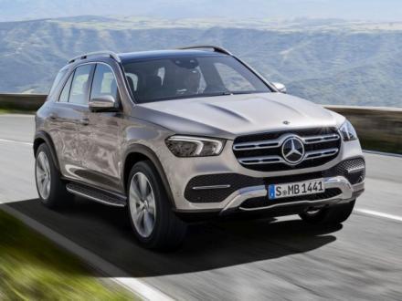 Nieuw! Automatten voor de Mercedes Benz GLE