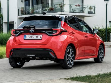 Nuovo! Tappetini per auto per Toyota Yaris 2020->